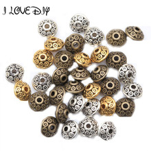 Buy Wholesale 100pcs Spacer Charms Mixed Color Tibetan Silver Metal Spacer Beads 6mm Jewelry Making Fast for $2.30 in AliExpress store