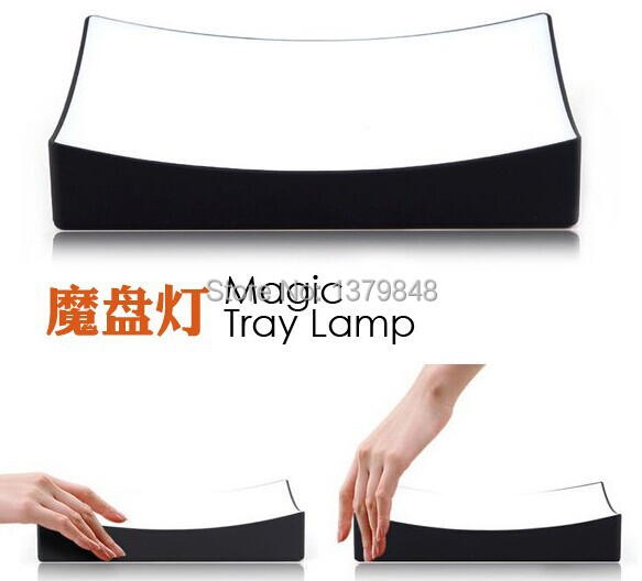 Magic Tray LED Lamp Night Light Bedside Lamp Sensor Help you easy to find your glasses& phone in the dark night(China (Mainland))