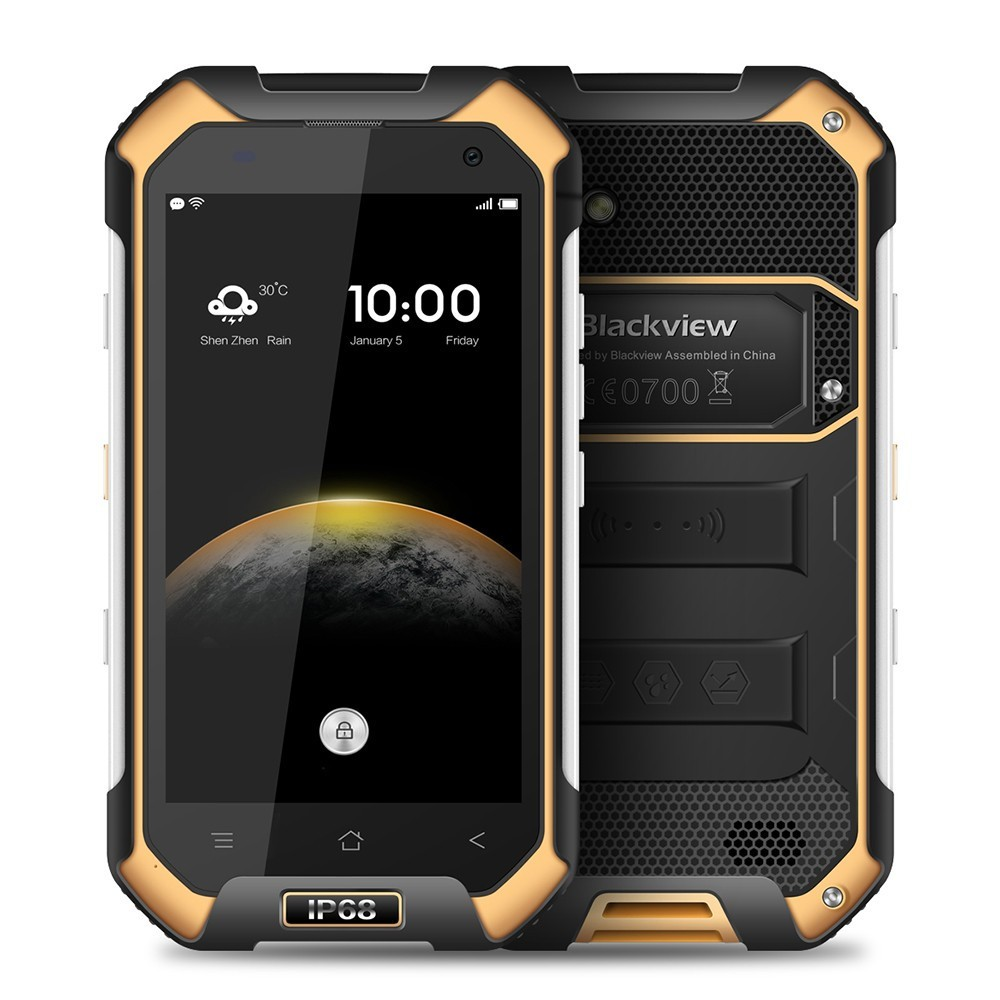 Blackview BV6000 MTK6755 Octa Core 3GB+32GB /BV6000S MT6737 Android 6.0 2GB+16GB smartphone 4200mAh13MP Waterproof Mobile Phone