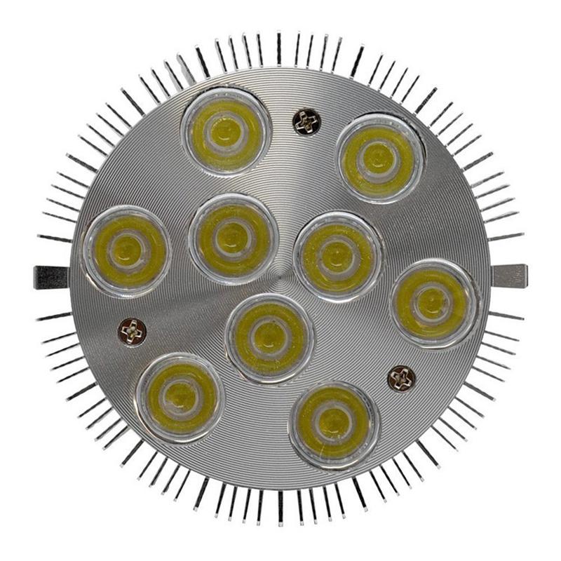 LED PAR 30 Led Spotlight bulb E27 Dimmable pure white / Warm White 9W lampada led replace the 75W Halogen lamp(China (Mainland))