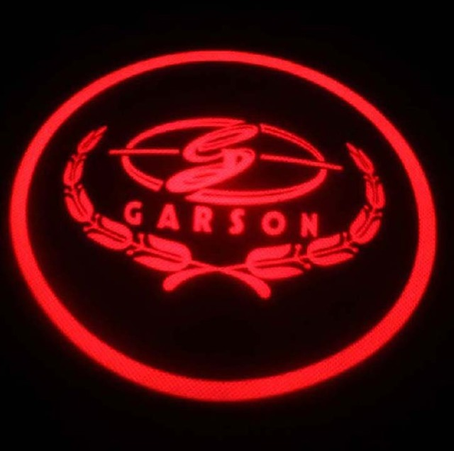 Car LED Door Lights For Carson Car LOGO Decoration Door Prejection Auto Shadow Light Laser Lamp 2Pcs Free Shiping By HK Post