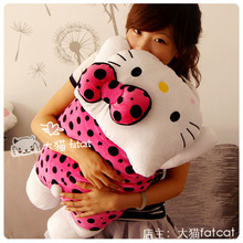 Buy Free 40cm children gift cute hello kitty cat cushion pillow plush doll stuffed toy KT pillow for $16.50 in AliExpress store