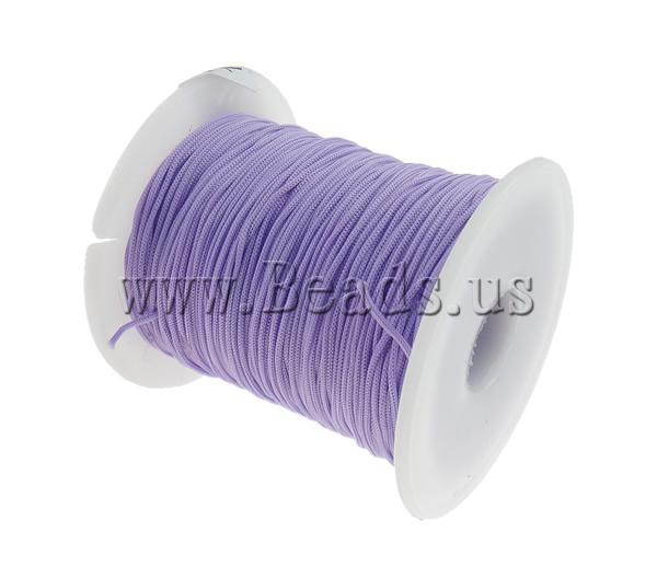 Free shipping!!!Nylon Cord,hot sale, light purple, 1mm, Length:Approx 100 Yard, Sold By PC