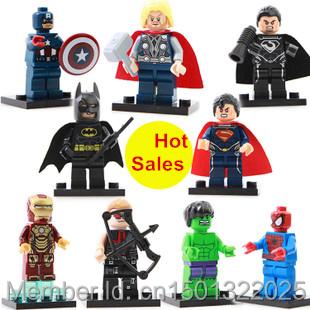 Decool Superheroes Avengers Ironman Hulk Batman Captain America Action Minifigure Building Blocks Bricks Toys Children Gift - Toy store