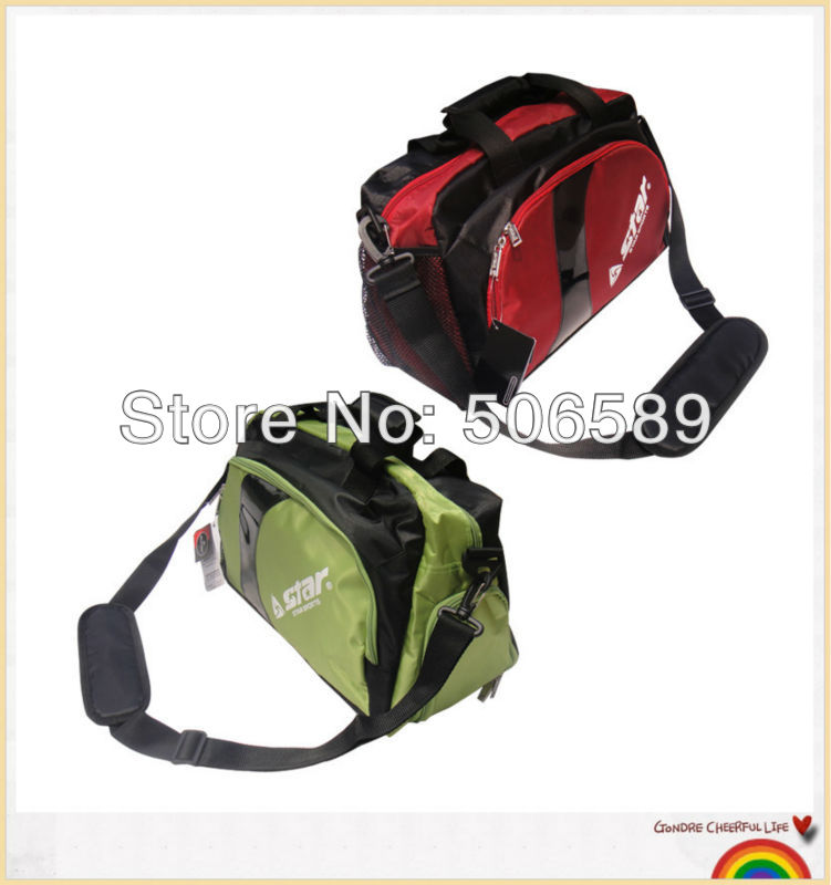 free shipping soccer bag for ball and boots red and green LT550(China (Mainland))