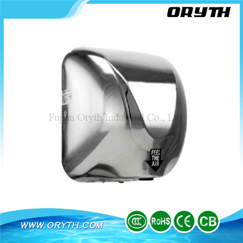 Top Quality Wall Mounted Hand Dryers Stainless Steel Automatic Hand Dryer with CE(China (Mainland))