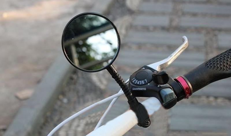Как сделать зеркало на велосипед