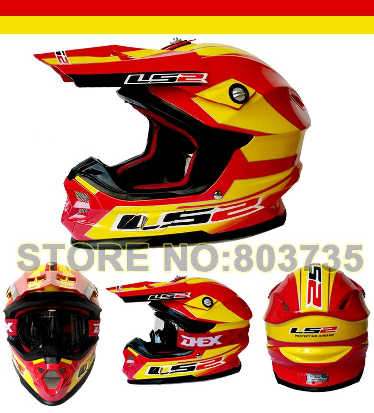 Original Ls2 MX456 Motocross Helmet Motorcycle Helmets ECE Approved Capacetes Casco(China (Mainland))