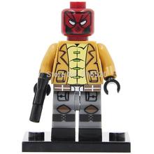 DC Super Heroes Avengers Red Hood Minifigures Building Blocks Single Sale Sets Model Bricks Toys Figure For Children