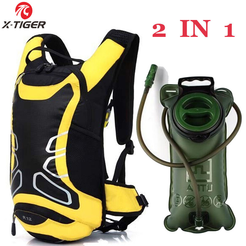 6 Colors 12L Waterproof Cycling Bicycle Ultralight Sport 2L Water Bag Outdoor Riding Travel Hydration Bike Hiking Backpack 2015(China (Mainland))