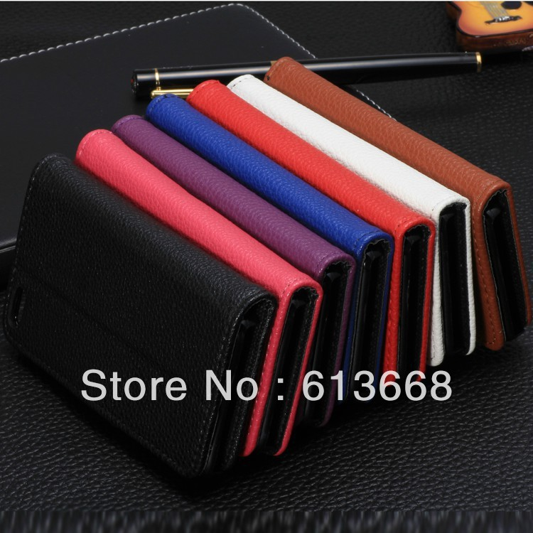 Newest Gift Stand Flip Wallet Book Leather Case Cover For iphone 5c iphone5c cell phone mobile phone 200pcs/lot Wholesale(China (Mainland))