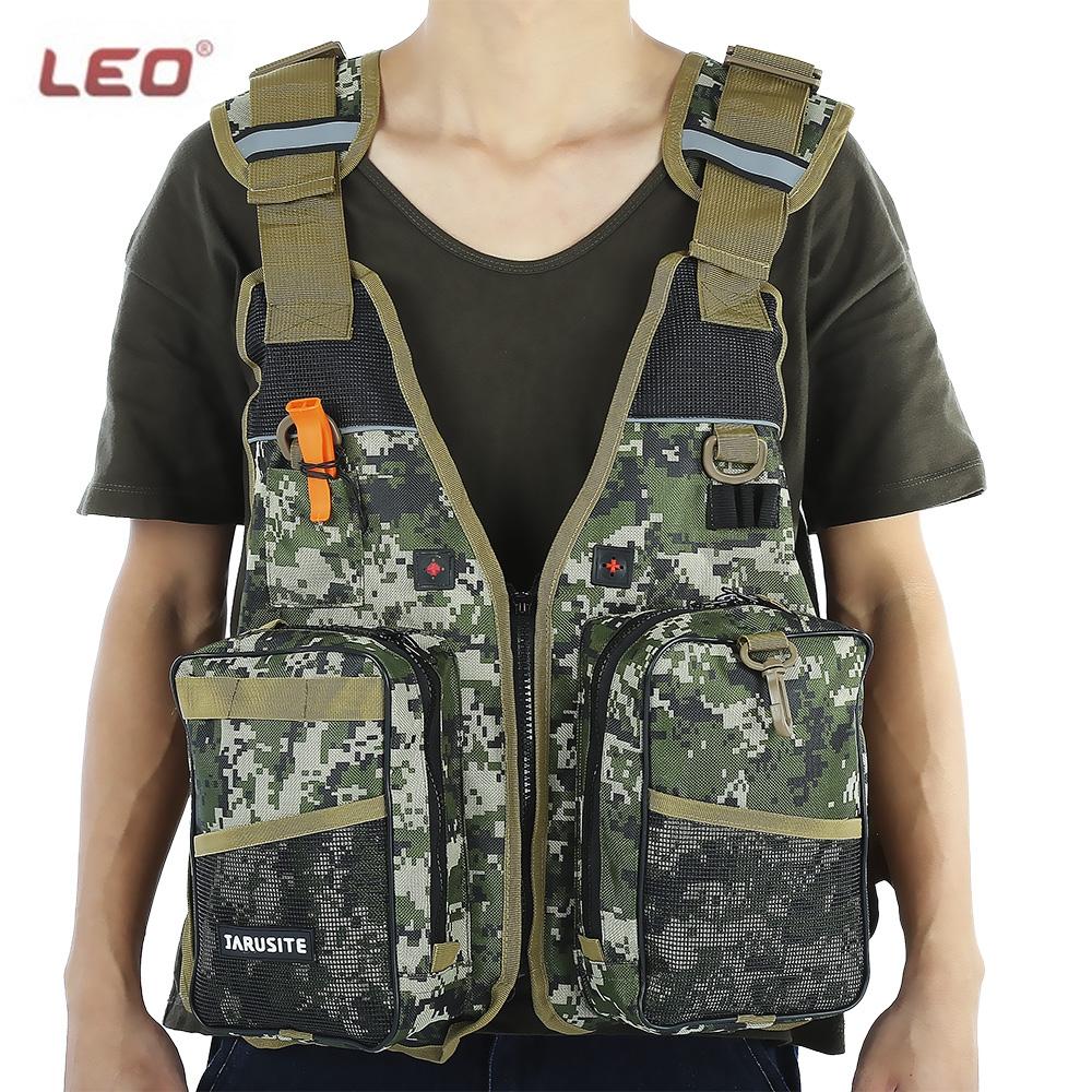 LEO Digital Aid Life Jacket Unisex Camouflage Aid Sailing Fishing Kayak Canoeing Life Jacket Vest Comfortable 2016 NEW(China (Mainland))