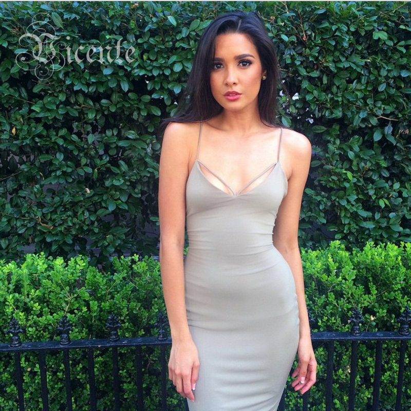 2015 New Gorgeous Cross Straps Backless Mi Amore Series Shift Bodycon Bustier Dress VJ027 Women Celebrity Club Party Wear от Aliexpress INT