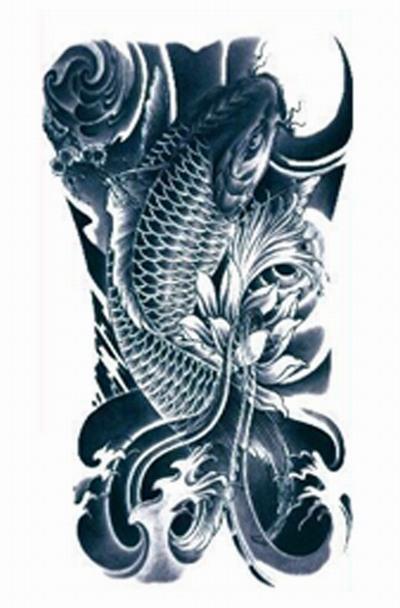 Achetez en gros koi carpe tatouage en ligne des for Grossiste carpe koi