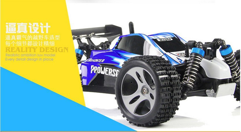 All Wheel Drive Rc Cars : Wltoys a gh remote control wd off road all