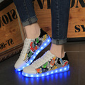 2017 New Men Led Light Shoes For Adults Fashion Brand Tenis Schoenen Met Licht Led Glow