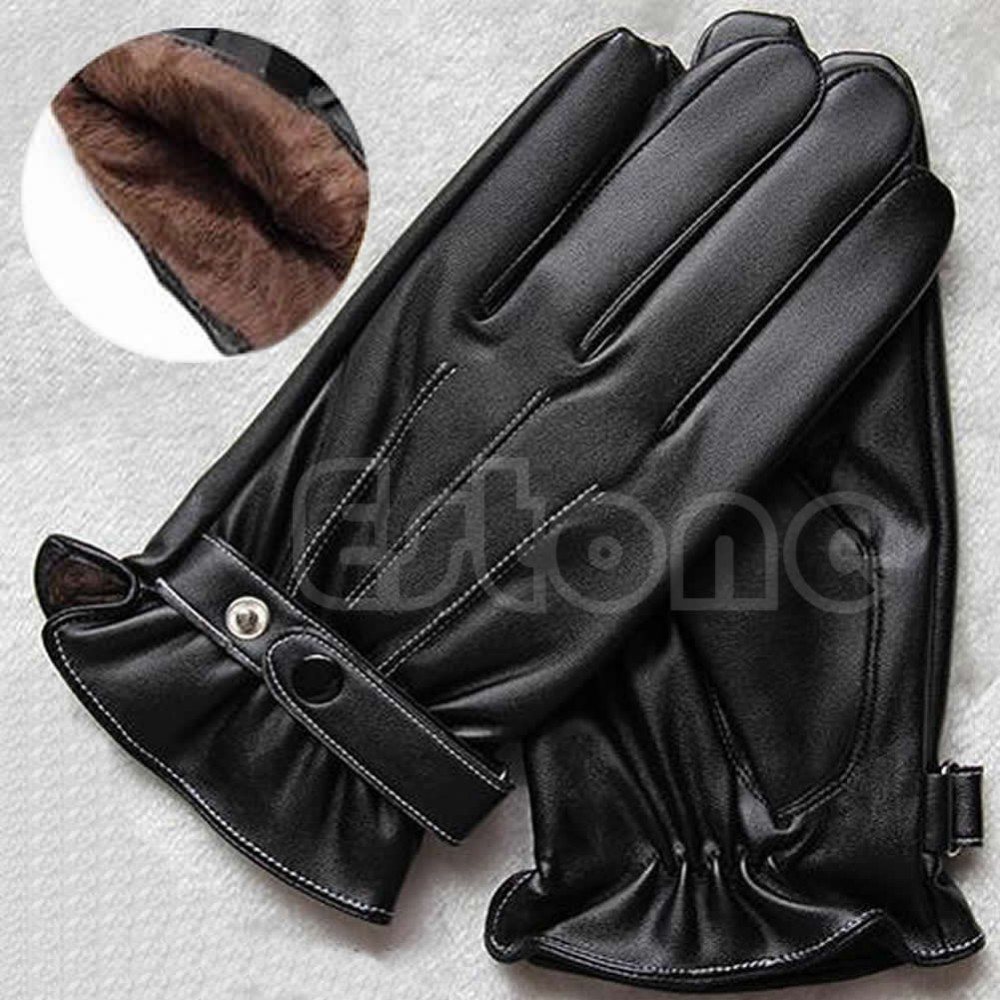 Fake leather driving gloves - Getsubject Aeproduct Getsubject