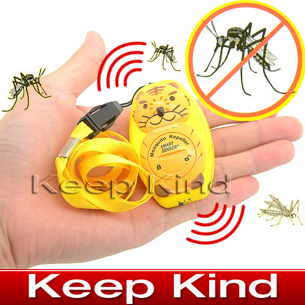 Free shipping AR110C Watch-type Ultrasonic mosquito repeller with Sonic(China (Mainland))