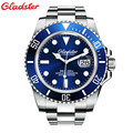 New Gladster Mens Watches Top Brand Luxury Diver 200M Super Luminous Sapphire Glass Automatic Mechanical Watch
