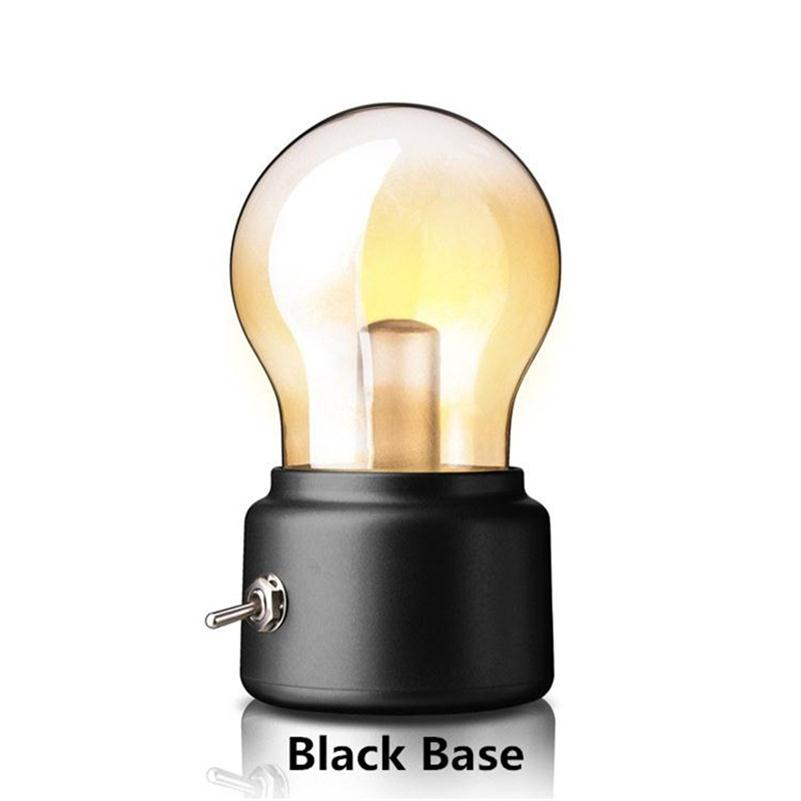 USB Bulb Lamp Night Light Bulb Rechargeable Battery LED Reading Book Novelty Gifts Industrial Retro Loft Vintage Table Desk Lamp(China (Mainland))