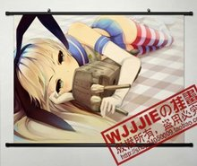 Anime  Cosplay Home Decor Poster Wall Kantai Collection shimakaze (60*80)-083 JD