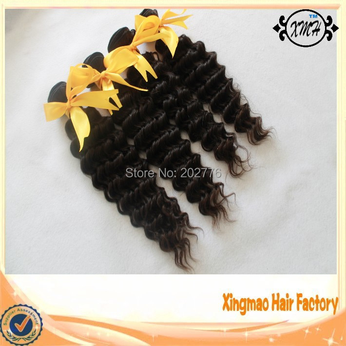 Free Shipping Malaysian Virgin Hair Cheap Malaysian Deep Wave  Hair Bundles Unprocessed Malaysian Virgin Hair Extension 10