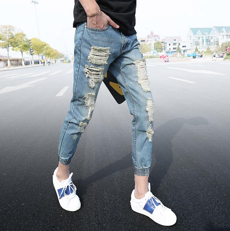 Popular Denim Jogger Jeans Men-Buy Cheap Denim Jogger Jeans Men ...