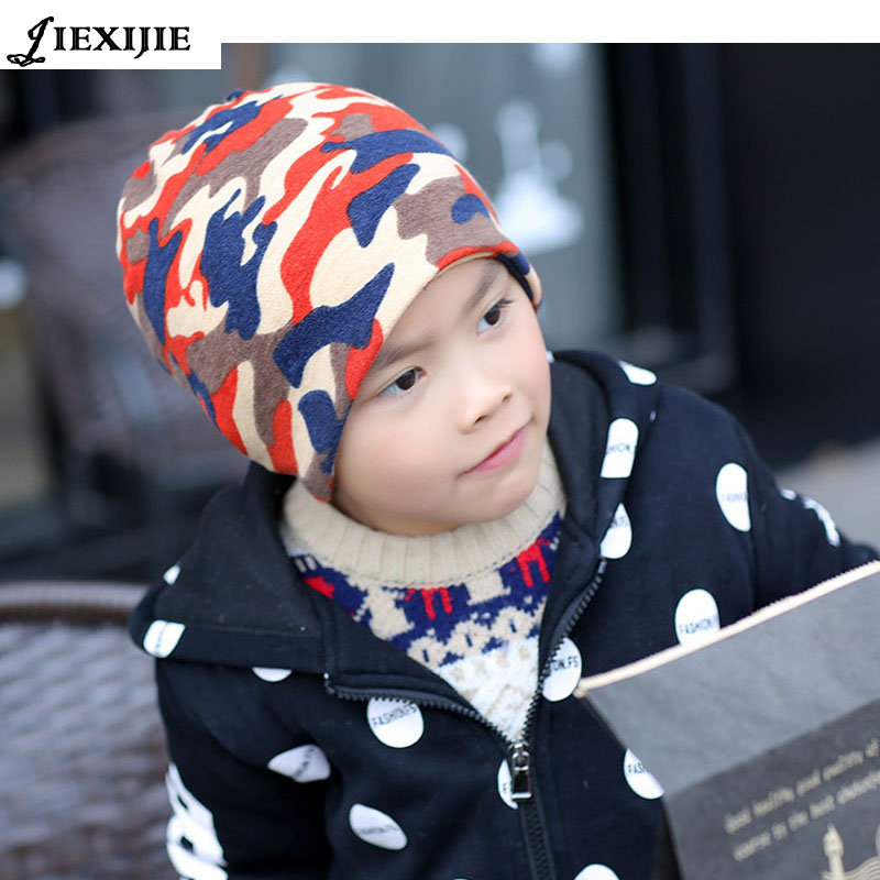 Multi-function hat children's hats Set head cap The letter Cap Knitting baby hat Autumn and winter fashion the tide(China (Mainland))