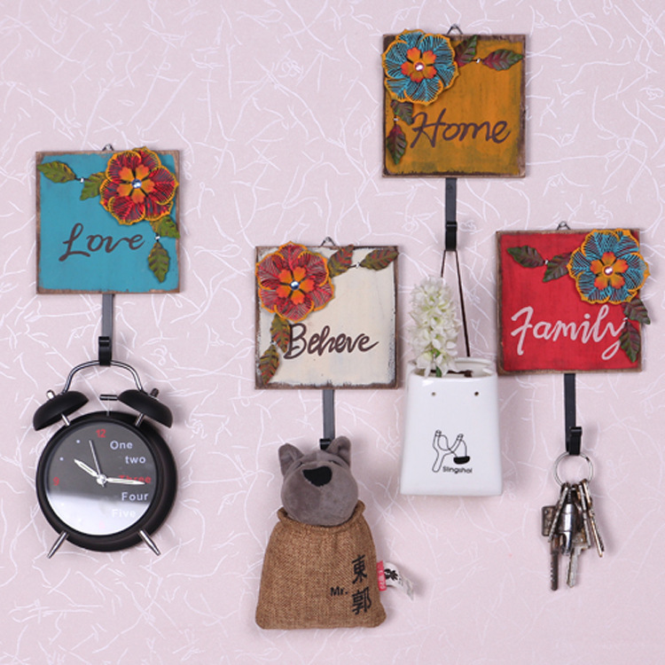 Здесь можно купить  Wall Hanger Hats Bag Key Adhesive iron Hook  Аппаратные средства
