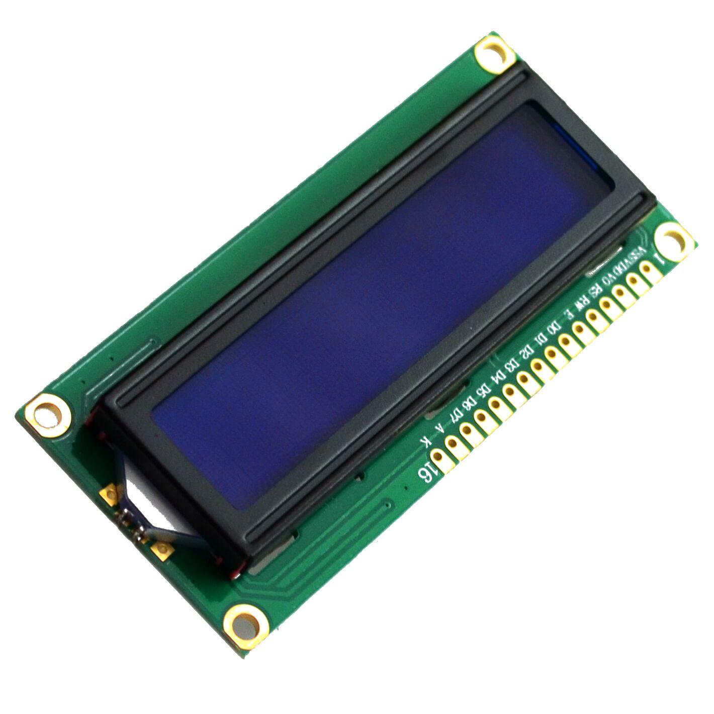 1pcs/lot LCD1602 LCD 1602 blue screen with backlight LCD display 1602A-5v(China (Mainland))