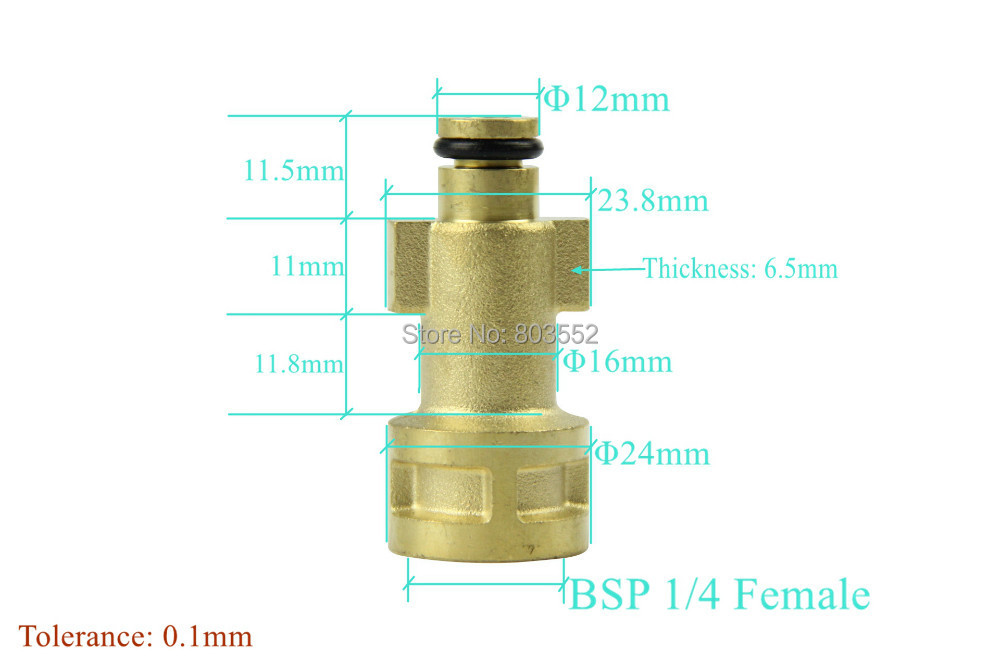 Foam Lance Adapter connector compatible with Bosch(China (Mainland))
