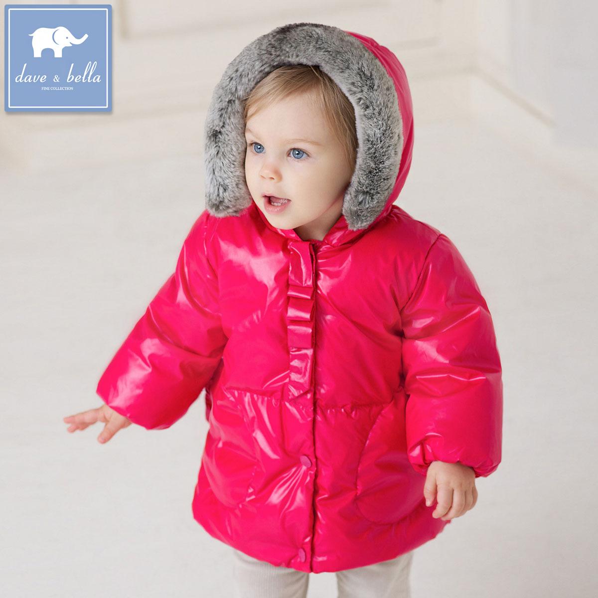 Girl baby autumn and winter snowsuit baby-snowsuit jackets infant children's winter