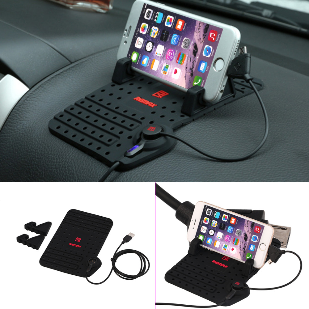 Universal 180 x 110mm DIY Silicon Car Holder Mount Stand Charging Cradle Non Slip Mat Pad hot selling(China (Mainland))