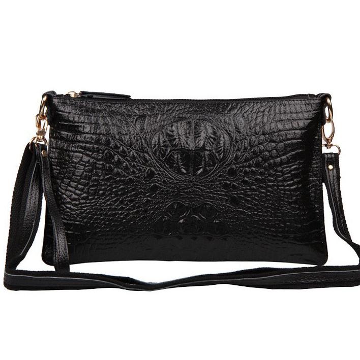 2015 new Embossed Leather Ladies shoulder diagonal cross bag leather handbag purse bag hand bag Messenger