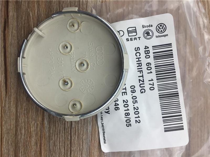 20pcs 60mm gray/black Wheel Center Cap Wheel Hub Caps Rims Cover car Badge Emblem For A3 A4 A6 4B0601170,4B0 601 170<br><br>Aliexpress