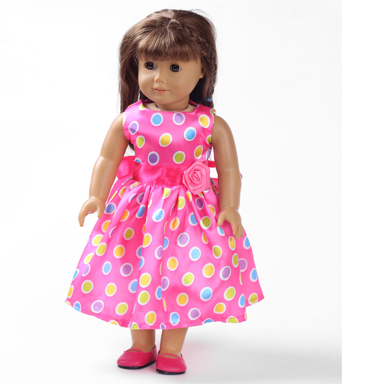 New Style Dress 18 Inch American Girl Doll Clothes And 18 American Doll Accessories Sdc 22 In