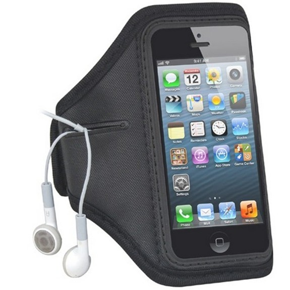 Waterproof Workout Brush Cover Gym Case Holder +Key Slot Casual Sport Accessories Arm Band for iphone 4 4S 5 5G Case(China (Mainland))