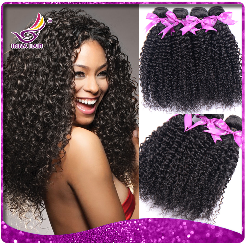 Big sale!35% Off IRINA beauty hair products 3pcs lot peruvian kinky curly hair weaves 7a Virgin afro hair extensions for sale(China (Mainland))