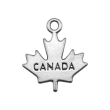 Buy shape 20pcs two sides engraved Canada maple leaf charm for $9.48 in AliExpress store