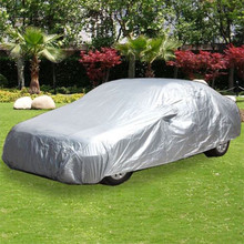 L Full Car Cover Waterproof Heat Sun UV Snow Dust Rain Resistant Protection(China (Mainland))