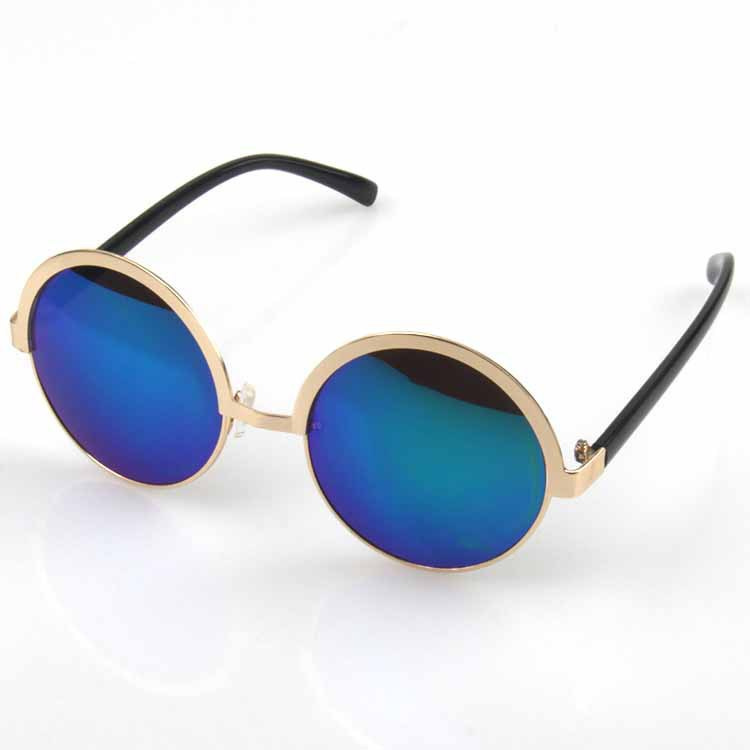 Men Sunglasses Driving Aviator Outdoor round Eyewear Sun Glasses UV400 gun gary(China (Mainland))