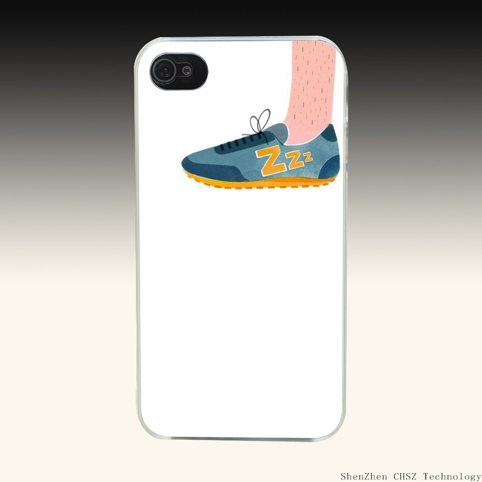 876e At the foot of the shoes Hard Clear Case Transparent Cover for iPhone 4 4s 5 5s SE 6 6S Plus(China (Mainland))