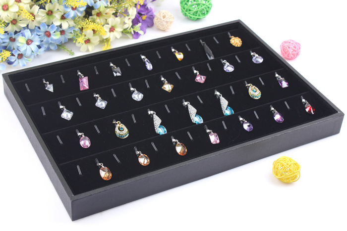 Free shipping 56 booth pendant jewelry set jewelry necklace set jewelry displays(China (Mainland))