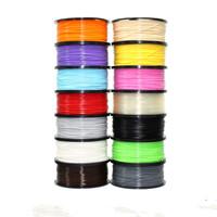 Multicolor 3D Printer Pen Filament PLA Filament 1.75mm For 3D Printer Printing Drawing Pen For Kickstarter 3Doodler 2.0
