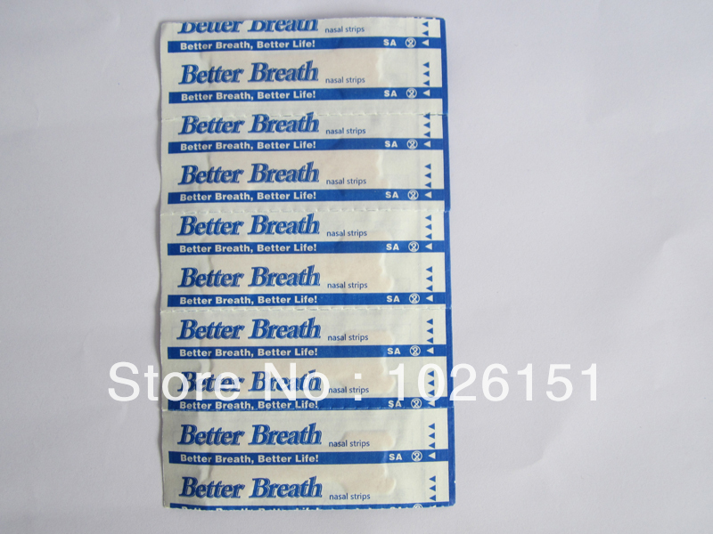 Free shipping FedEx, CE certificate breathe nasal strips, medium size 500pcs per lot, nasal strips breath for nose snore(China (Mainland))