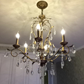 Loft Creative Personality Industrial Lamp Edison Bulb American Style For Living Room chandelier European style iron