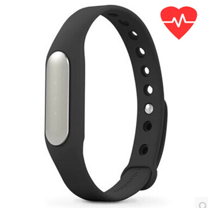 Original Xiaomi Mi Band 1S Heart Rate Monitor Smart Wristband Miband Bracelet For Android iPhone Passometer Fitness Tracker<br><br>Aliexpress
