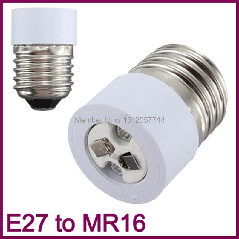 5pcs/lot E27 Standard to MR16 Base LED Light Lamp Bulb Adapter Converter Holder Screw Socket Free Shipping(China (Mainland))