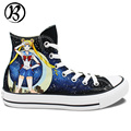 Sailor Moon Tsukino Usagi Anime Shoes Painted Custom Shoes Womens Mens Christmas Gifts Birthday Gifts Art