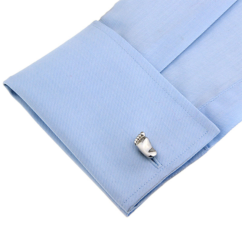 High Quality Gentlemen Wedding Suit Feet Shaped Shirt Cufflinks French Style Funny Cuff Links Gemelos Abotoaduras Men Jewelry(China (Mainland))
